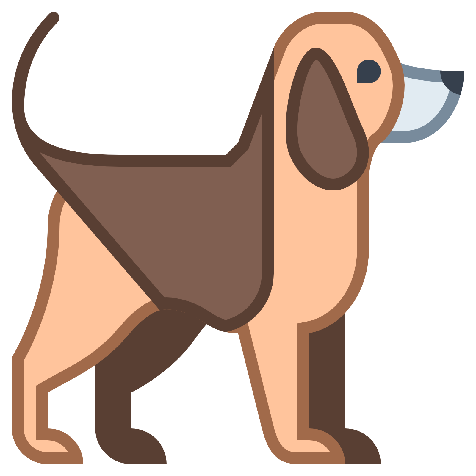 Short tail dog clipart free jpg freeuse stock Dog Icon - Free Download at Icons8 jpg freeuse stock