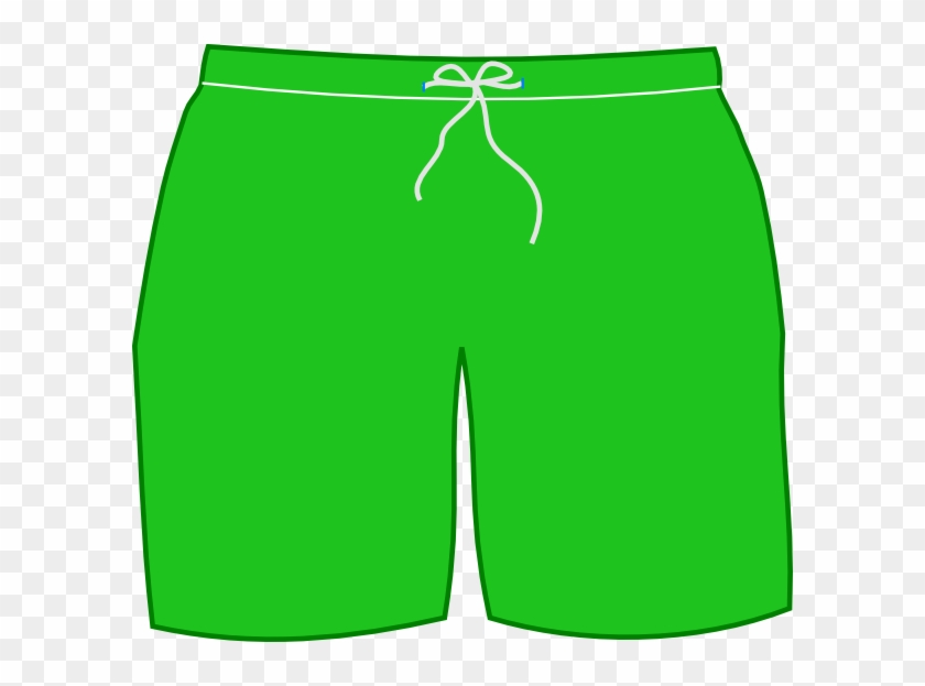 Swim shorts clipart png black and white Green Swim Shorts Clip Art - Green Shorts Clipart, HD Png ... png black and white