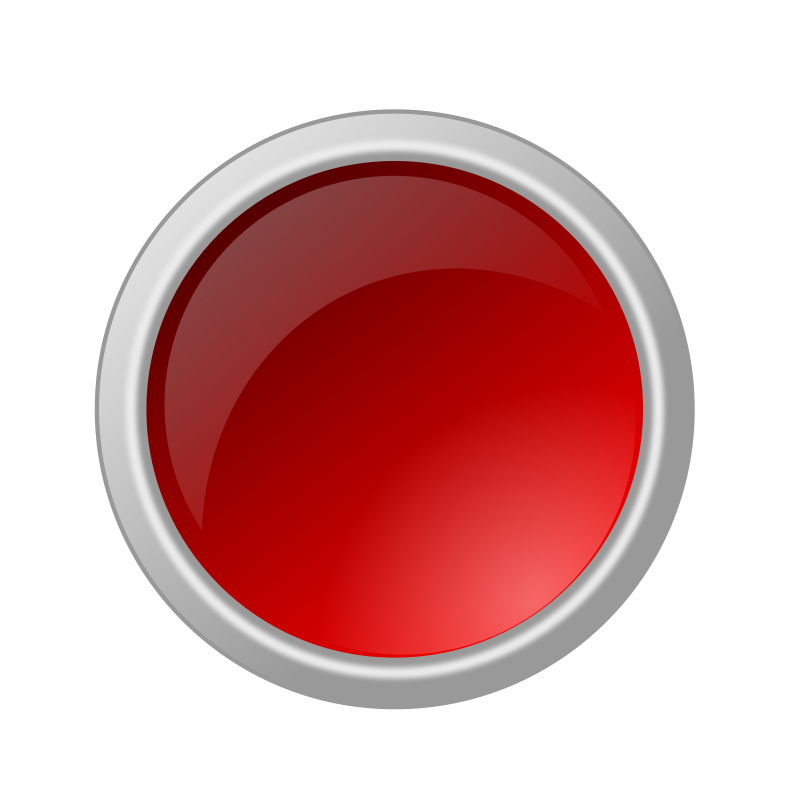 Shot botton clipart vector free Free Clipart: Glossy red button | ricardomaia vector free
