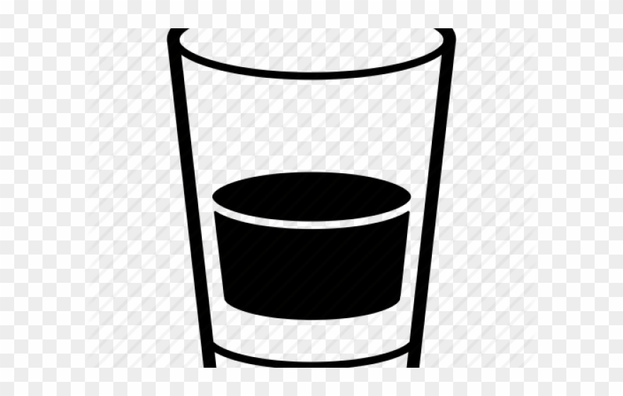 Shot glass clipart black and white vector transparent library Shot Glass Clipart - Png Download (#555126) - PinClipart vector transparent library