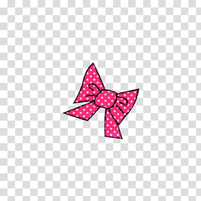 Shoujo clipart jpg Shoujo, pink and white ribbon bow transparent background PNG ... jpg