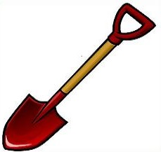 Shovels clipart png black and white stock Pictures Of Shovels | Free download best Pictures Of Shovels ... png black and white stock