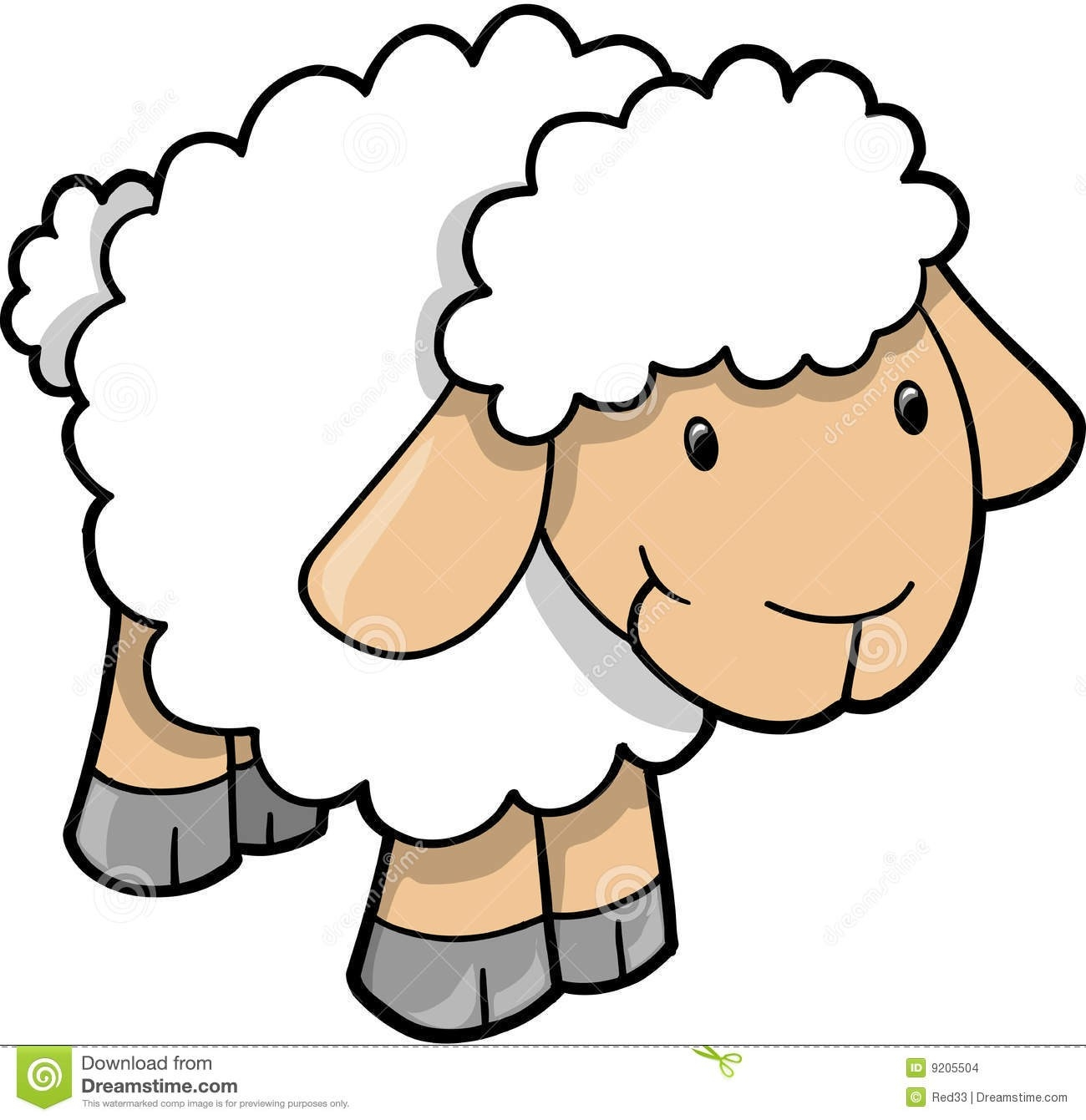 Show lamb clipart picture royalty free stock Cute Sheep Lamb Vector | Clipart Panda – Free Clipart Images ... picture royalty free stock