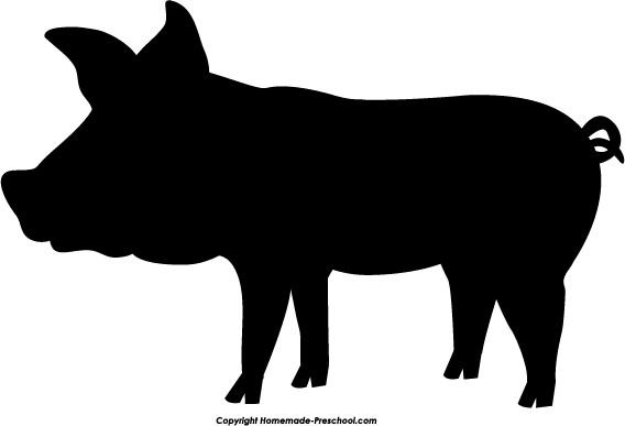 Show pig silhouette clipart clipart freeuse download Free Pig Silhouette Images, Download Free Clip Art, Free ... clipart freeuse download