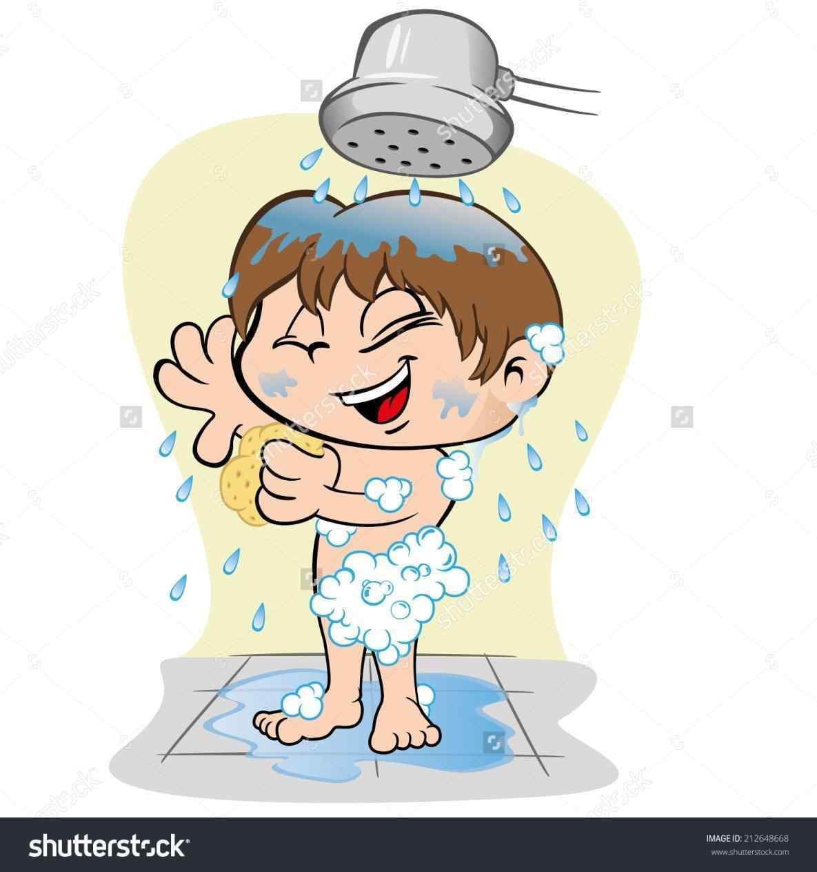 Showe clipart picture free Kids shower clipart 2 » Clipart Portal picture free