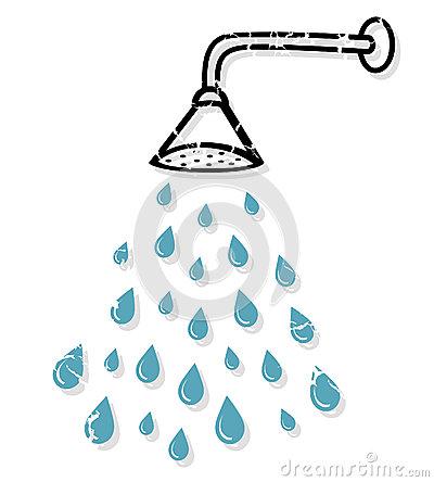 Shower clip art vector black and white download Taking A Shower Clipart - Clipart Kid vector black and white download