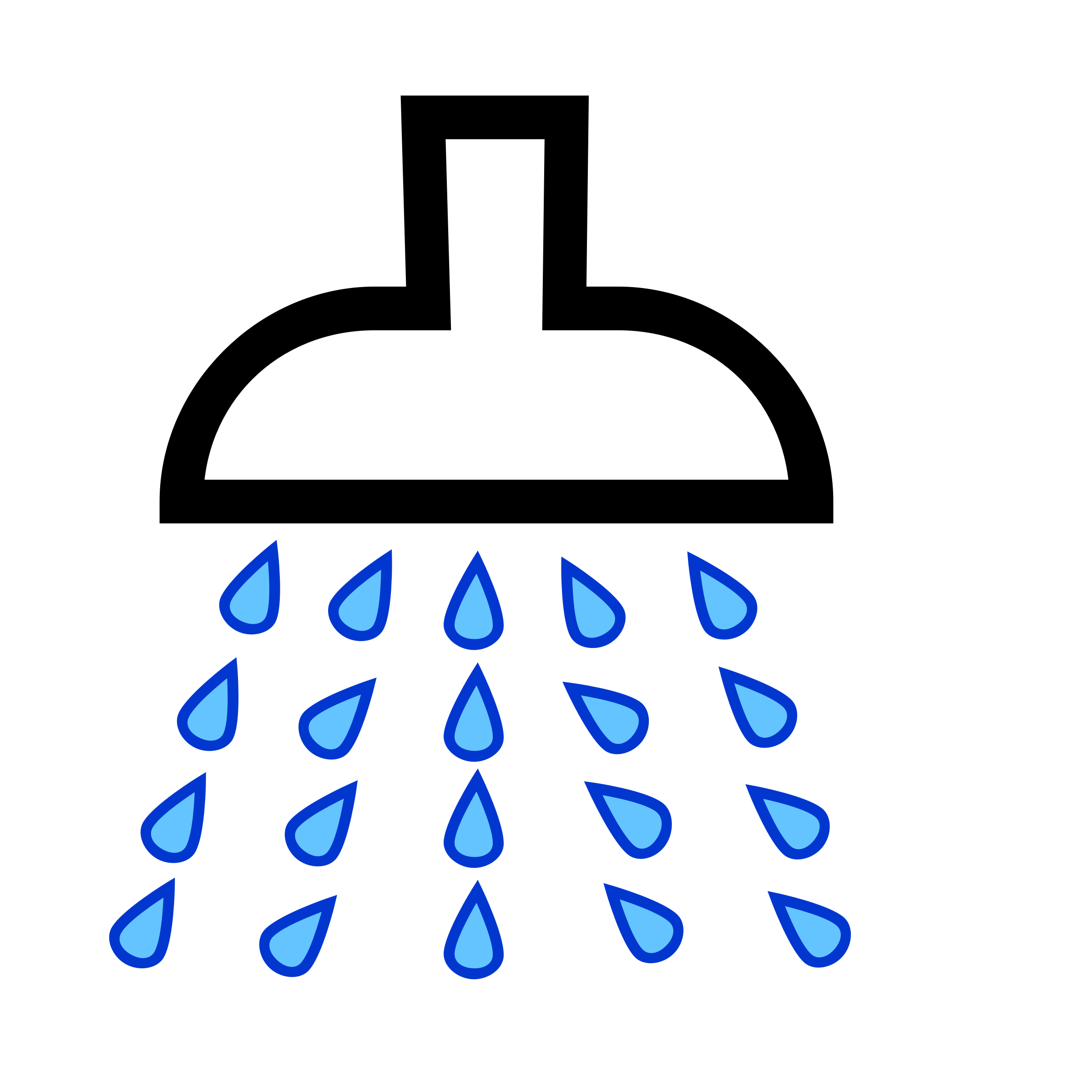 Shower clip art free picture freeuse Shower Clipart & Shower Clip Art Images - ClipartALL.com picture freeuse