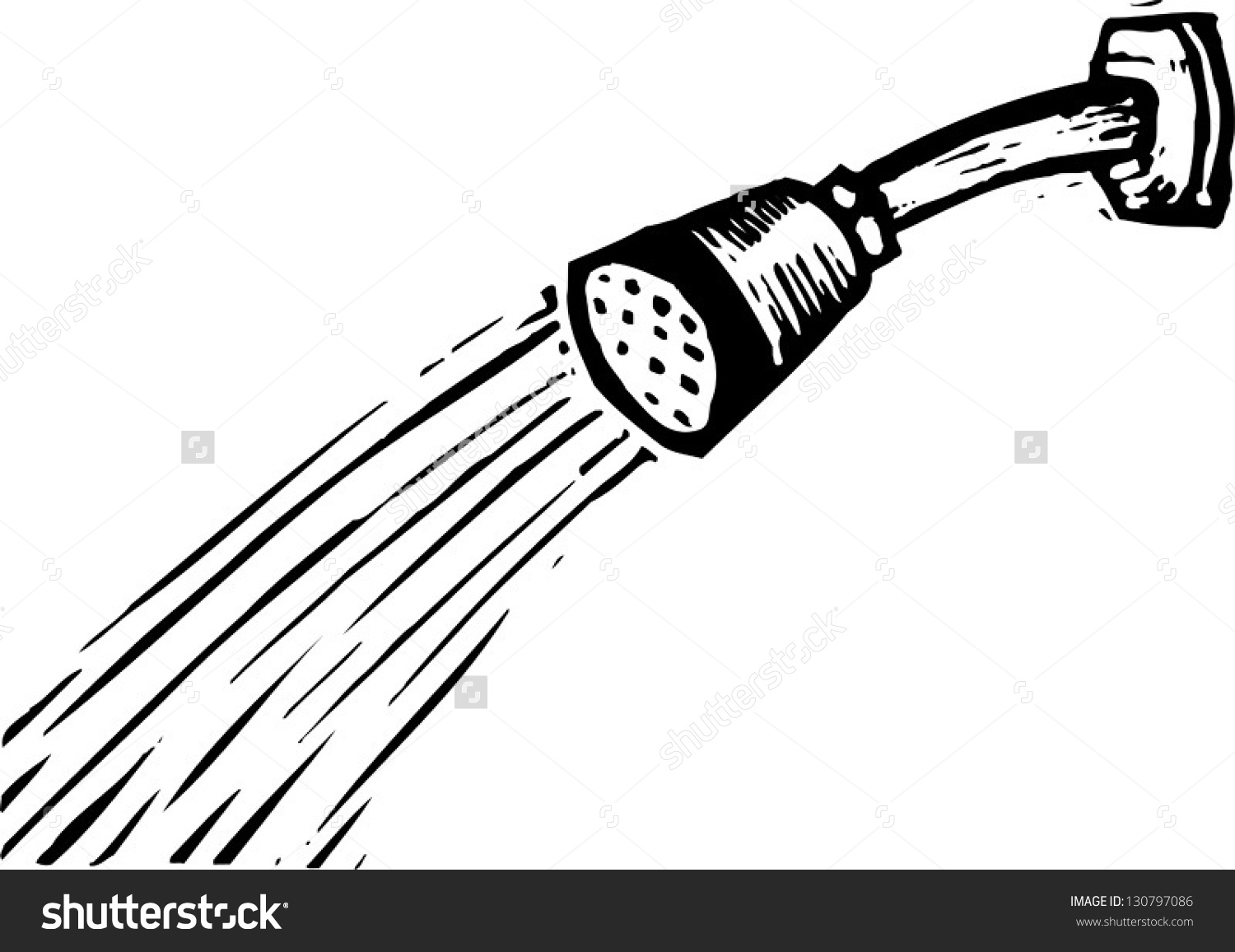 Shower clipart black and white png freeuse library Shower clipart black and white 1 » Clipart Station png freeuse library