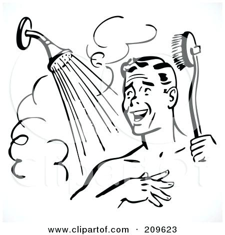 Take a shower clipart black and white picture black and white clipart shower – benhduonghohap.info picture black and white