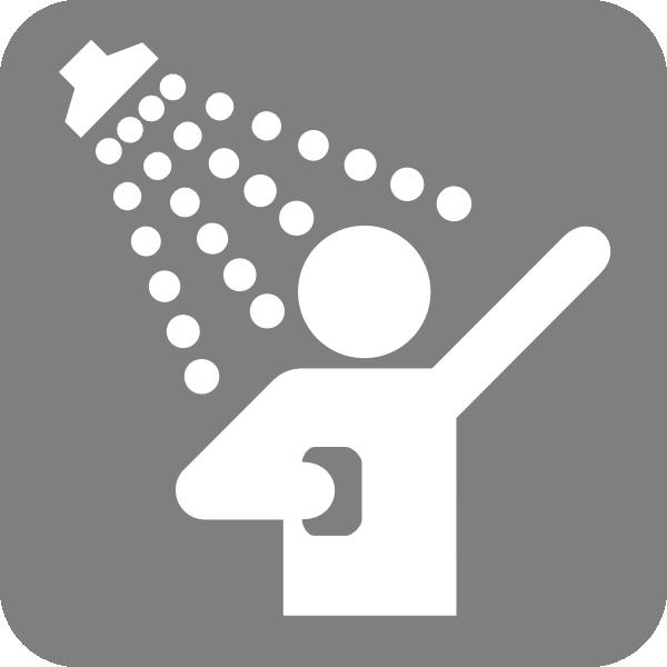 Shower head clip art clipart freeuse Bathroom Shower Head Clip Art – Clipart Free Download clipart freeuse