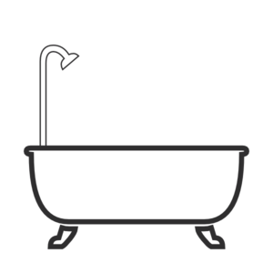Shower tub clipart graphic royalty free Shower Clip Art at Clker.com - vector clip art online ... graphic royalty free