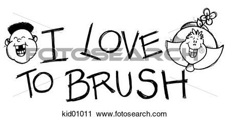 Showing love clipart clip transparent stock Clipart of Illustration showing children's smiling faces, which ... clip transparent stock