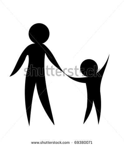 Showing love clipart banner black and white library Clip Art Of Mother And Baby Showing Love Clipart - Clipart Kid banner black and white library