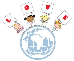 Showing love clipart clip art black and white stock Showing love to others clipart - ClipartFest clip art black and white stock