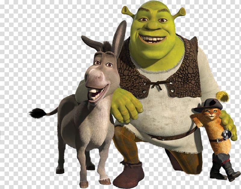 Shrek the third clipart vector Shrek and friends , Shrek 2 Donkey Puss in Boots Princess ... vector