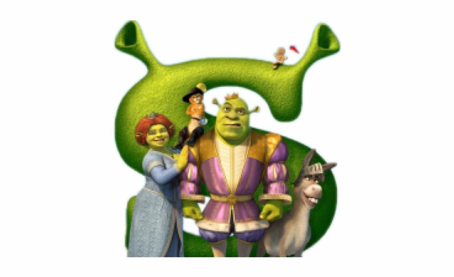 Shrek the third clipart image black and white Shrek The Third Makeover Free PNG Images & Clipart Download ... image black and white