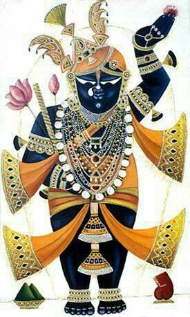 Shrinathji clipart vector black and white Shrinathji clipart » Clipart Portal vector black and white