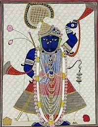 Shrinathji clipart clip art black and white Shrinathji - Wikipedia, the free encyclopedia | Jay Shree ... clip art black and white