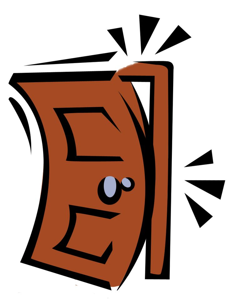 Shut door clipart picture transparent stock Slamming Door Clipart | Free download best Slamming Door ... picture transparent stock