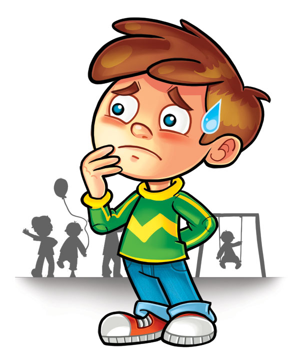 Shy kid clipart jpg freeuse Shy Boy Cliparts 18 - 600 X 729 - Making-The-Web.com jpg freeuse