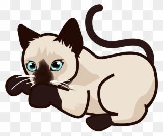 Siamese cat animated clipart graphic royalty free download Cat,Siamese,Felidae,Cartoon,Small to medium-sized cats,Nose ... graphic royalty free download