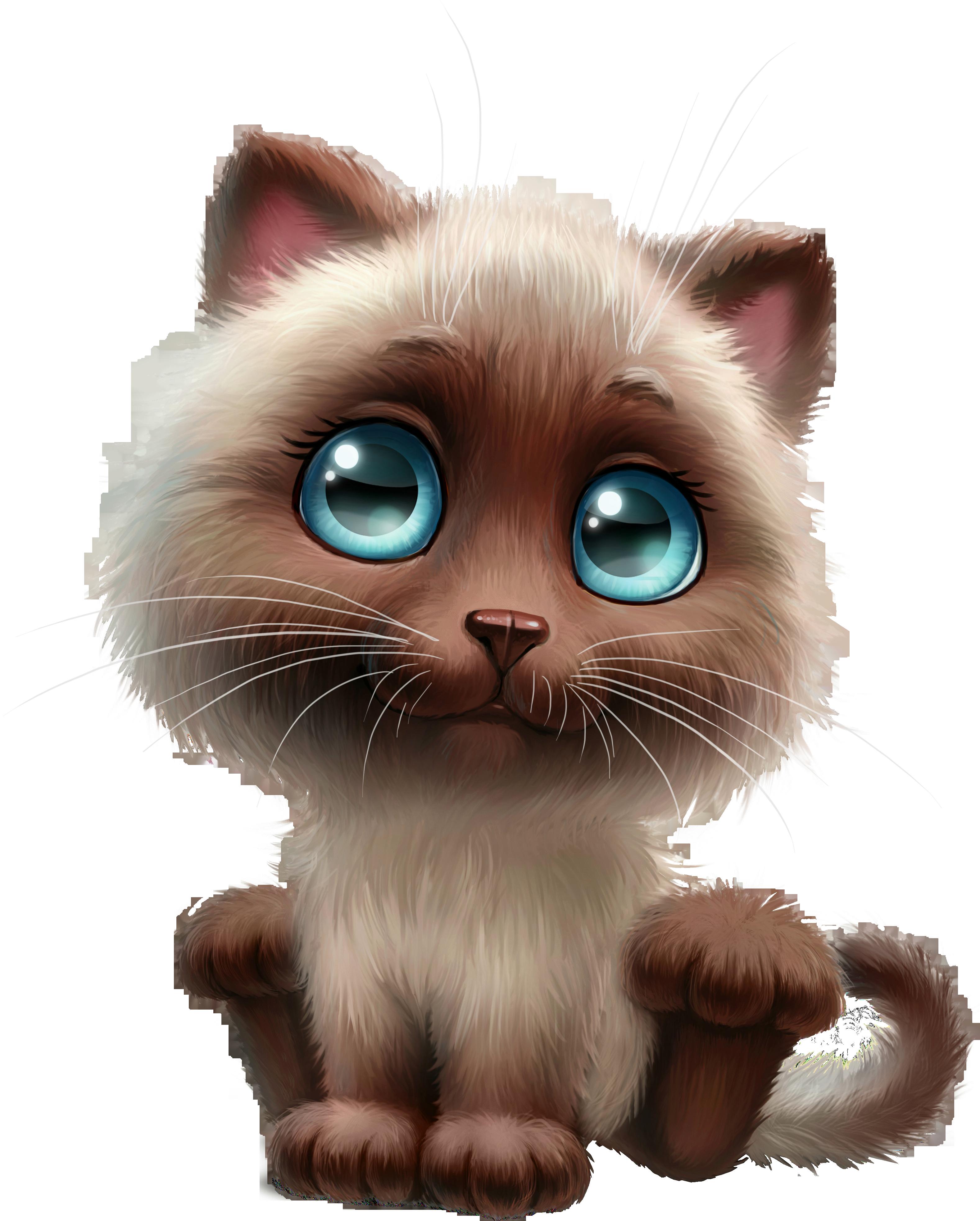 Siamese cat animated clipart clip transparent HD Anime Clipart Cute Cat - Cartoon Siamese Cat Png , Free ... clip transparent