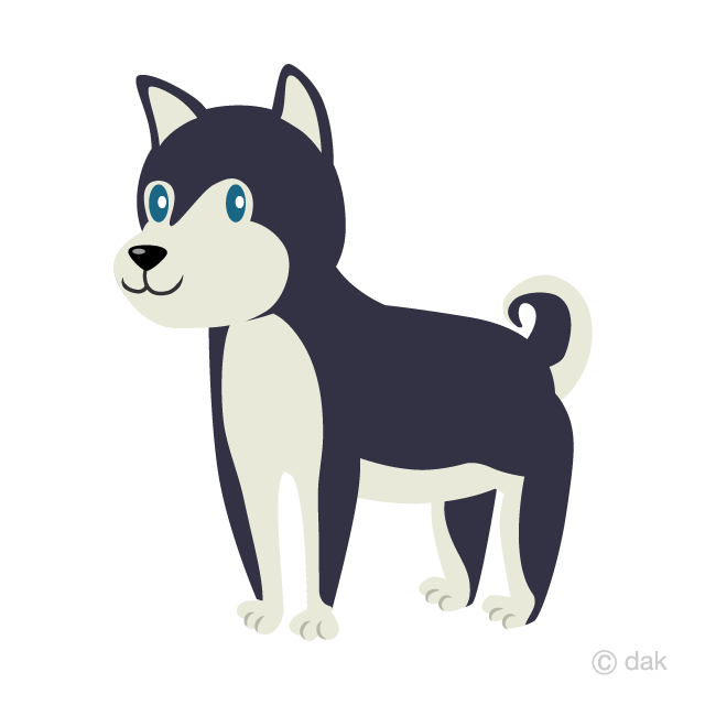 Siberian clipart png library Cute Siberian Husky Clipart Free Picture|Illustoon png library