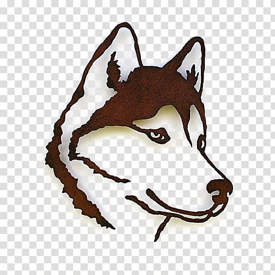 Siberian husky silhouette clipart clip royalty free download Brown wolf artwork, Siberian Husky Alaskan Malamute Pet ... clip royalty free download