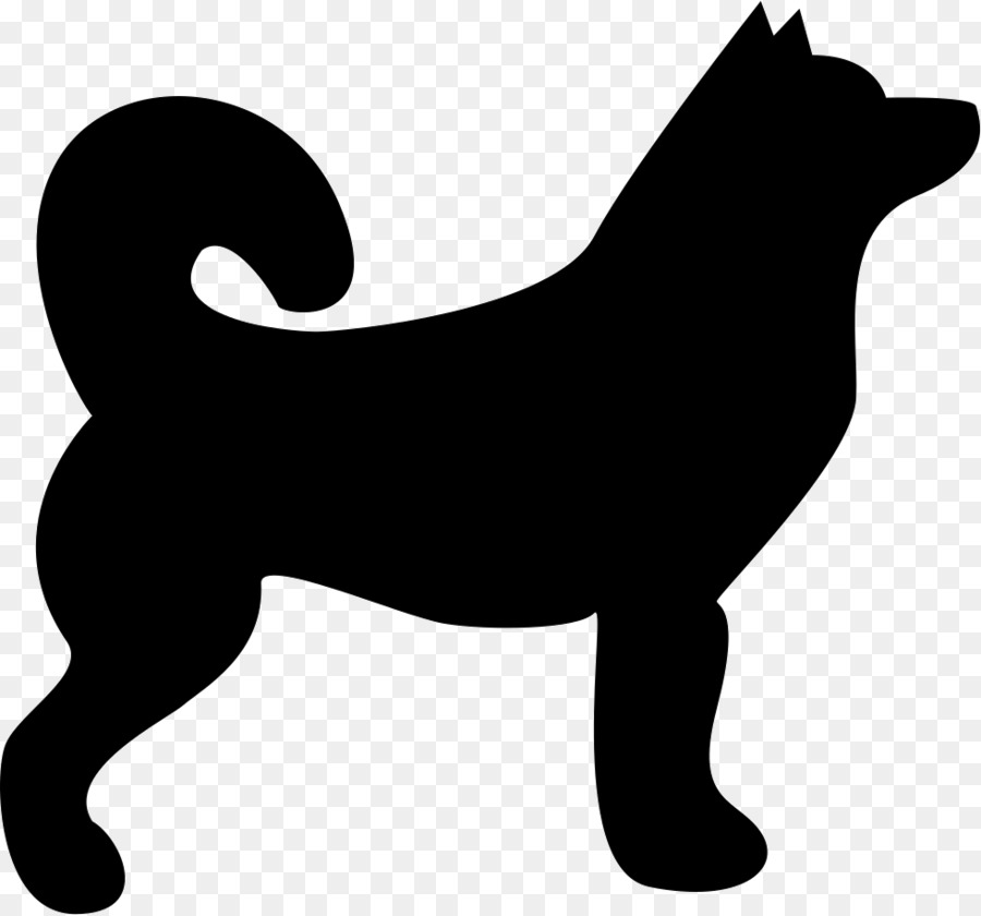 Siberian husky silhouette clipart freeuse download Download silhouette husky clipart Siberian Husky freeuse download