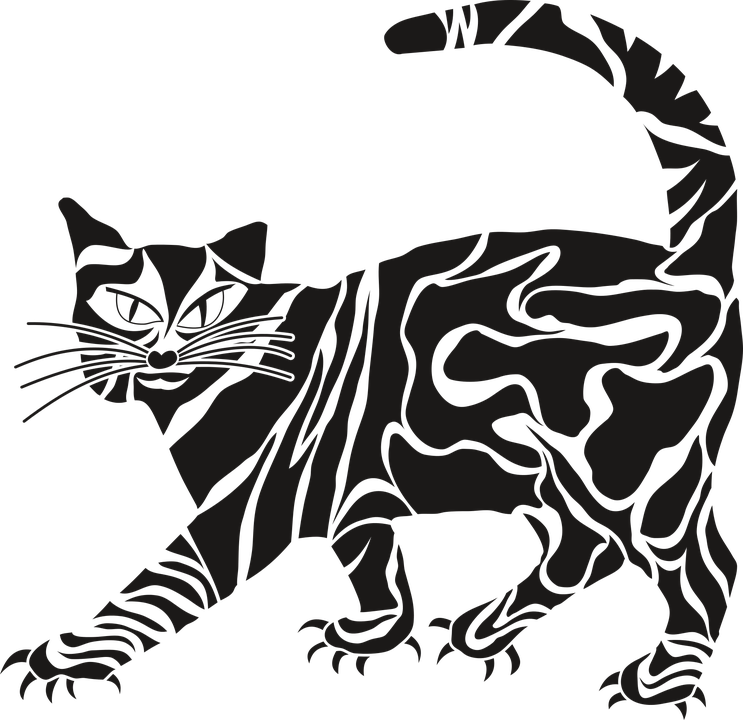 Sick cat clipart vector freeuse library Henna Cliparts#4917551 - Shop of Clipart Library vector freeuse library