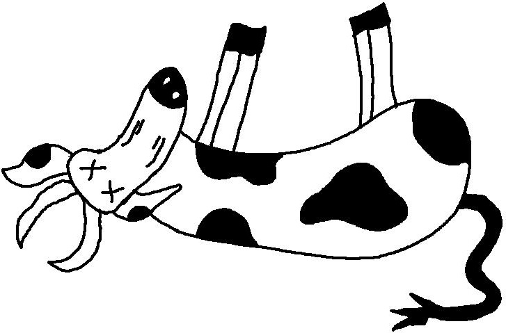 Sick cow clipart clip transparent library Sick cow clipart clipartfest - ClipartBarn clip transparent library