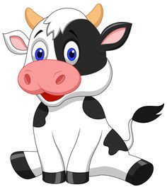 Sick cow clipart vector freeuse download Cow Images Drawing   Free download best Cow Images Drawing ... vector freeuse download