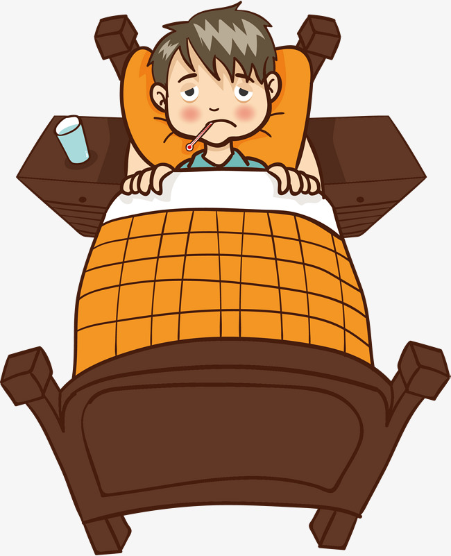 Sick little boy clipart image library library Body Temperature Sick Boy, Little Boy, C #80934 - PNG Images ... image library library