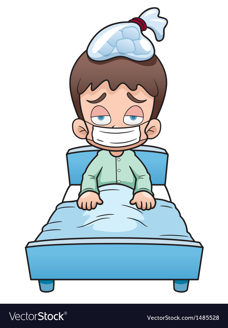 Sick little boy clipart svg royalty free Sick boy cartoon svg royalty free