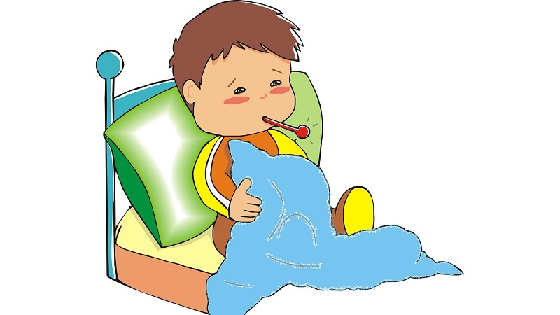 Sick little boy clipart clipart freeuse library Little Girl Sick Clipart - Free Clipart clipart freeuse library
