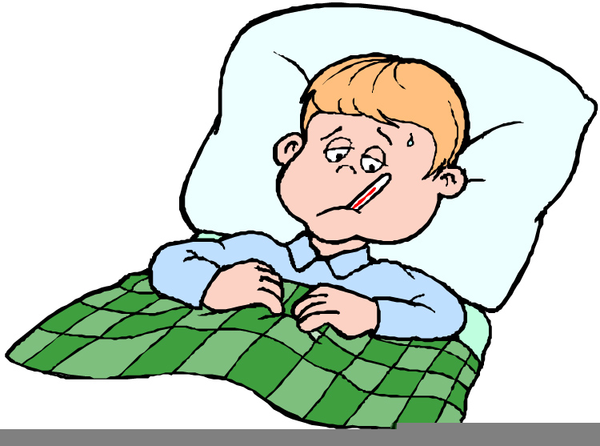 Sick person in bed clipart svg library stock Sick In Bed Clipart Free | Free Images at Clker.com - vector ... svg library stock