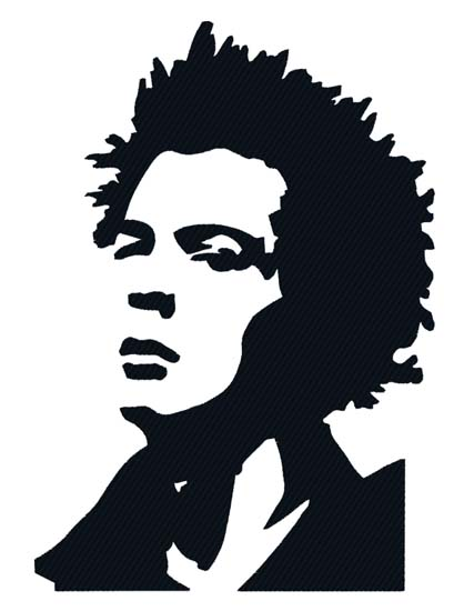 Sid vicious clipart clip art black and white stock Embroidery Direct clip art black and white stock