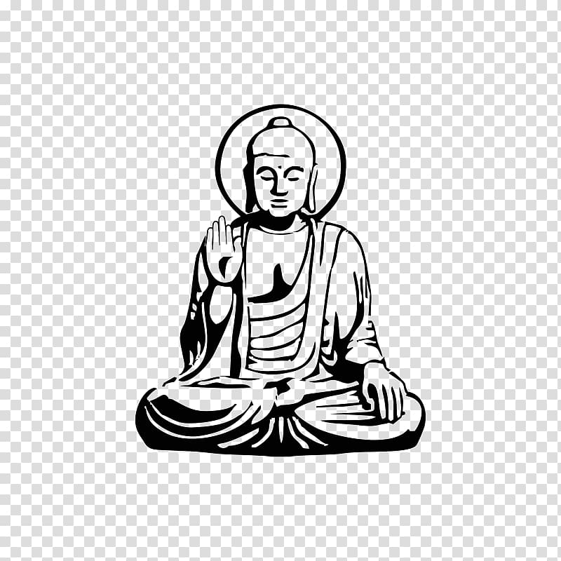 Sidartha clipart graphic transparent library Buddhism Siddhartha T-shirt Buddhahood Buddharupa, buda ... graphic transparent library