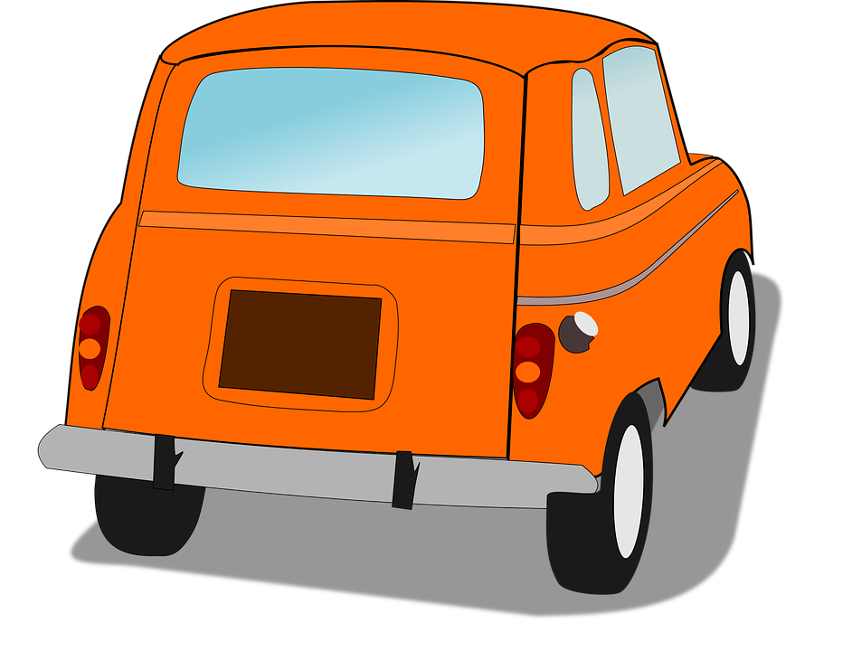 Side of car clipart svg royalty free library Car Clipart back - Free Clipart on Dumielauxepices.net svg royalty free library