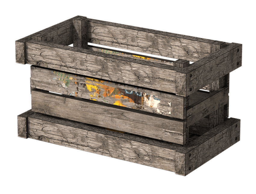 Side view of a house clipart clipart royalty free Wooden Crate Side View png - Free PNG Images | TOPpng clipart royalty free