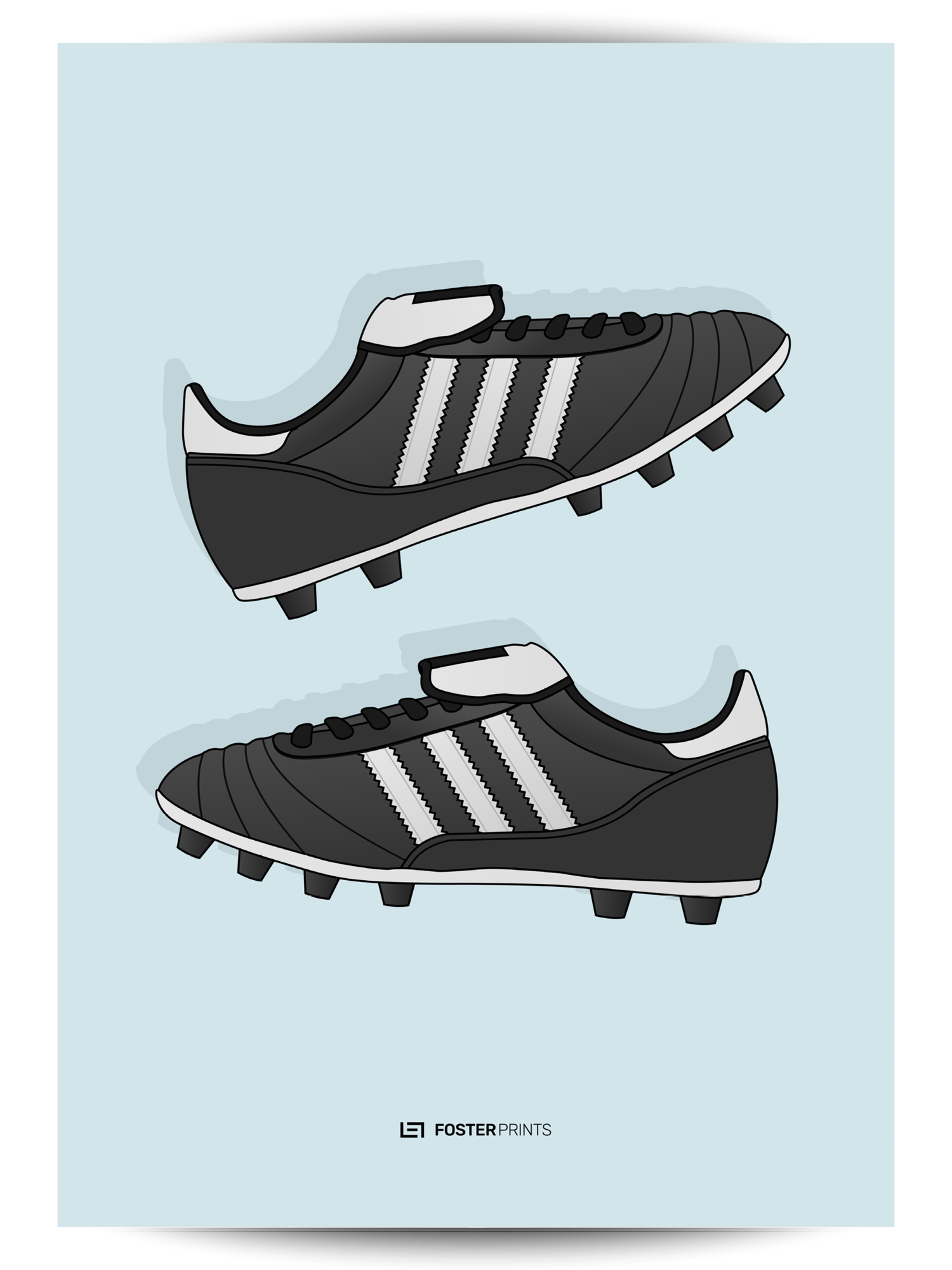 Side view of football cleat clipart svg transparent download Adidas Copa Mundial Football Poster | Pinterest | Mundial football svg transparent download