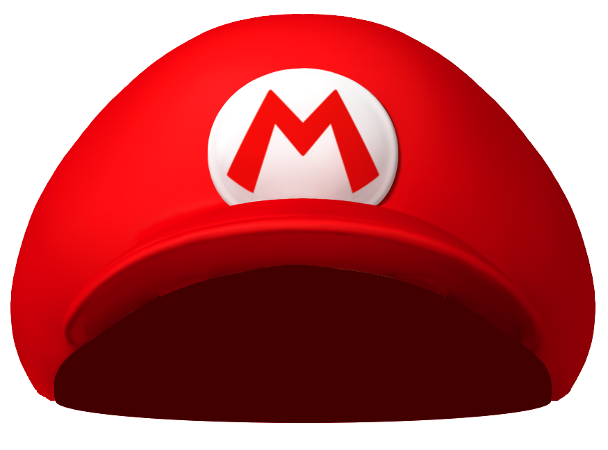 Sideways baseball cap clipart clipart royalty free Clipart for u: Mario clipart royalty free