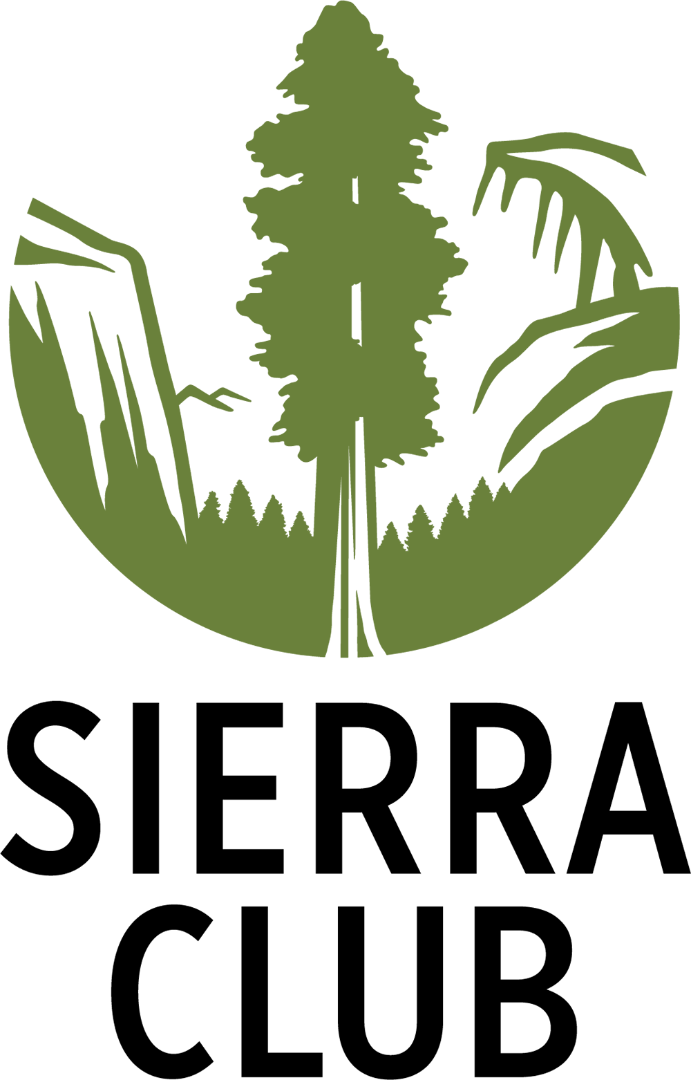 Sierra club logo clipart vector black and white download Sierra Club Logo History | Sierra Club vector black and white download