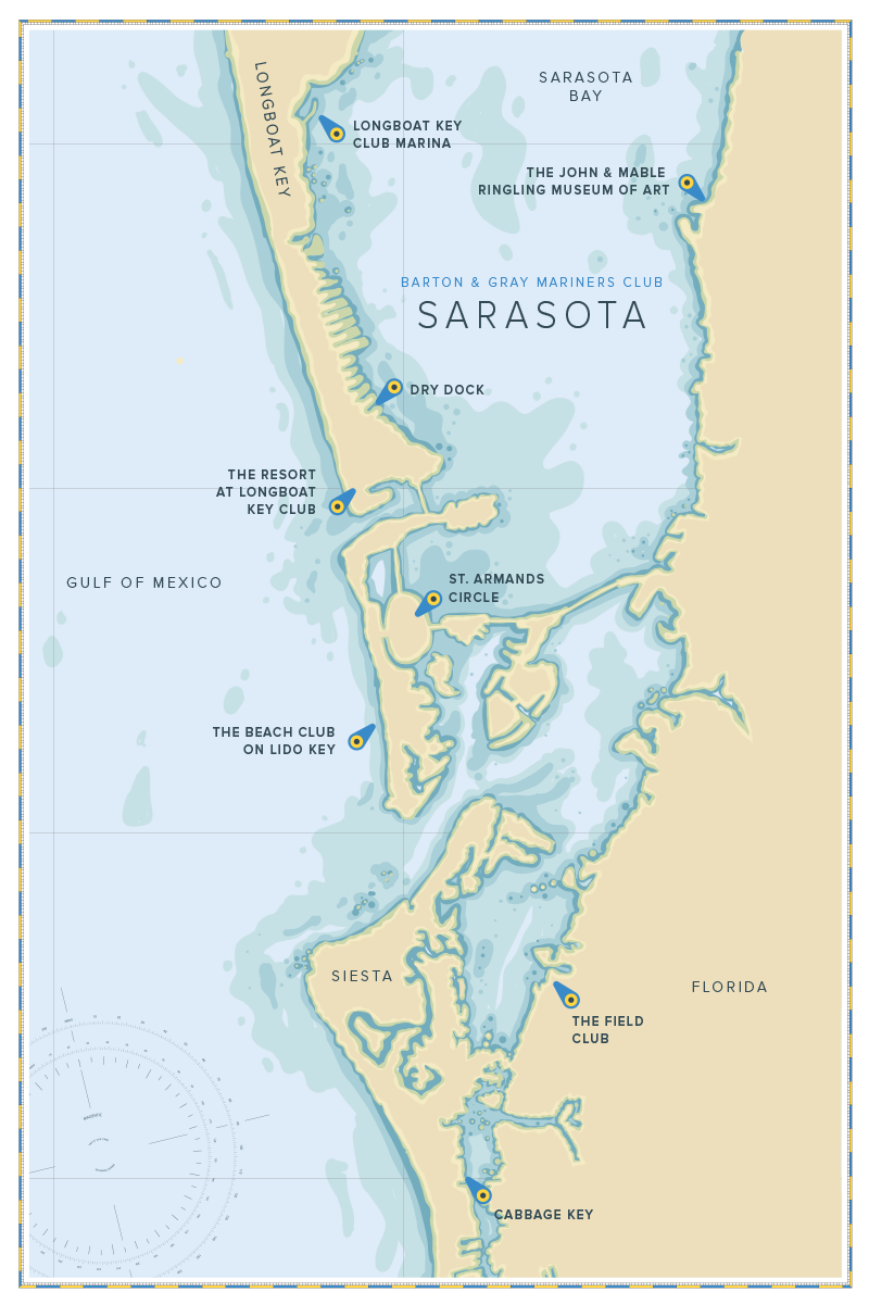Siesta key florida on a clipart map vector transparent library Sarasota, Florida vector transparent library