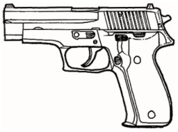 Sig sauer clipart picture royalty free download Contemporary pistols picture royalty free download