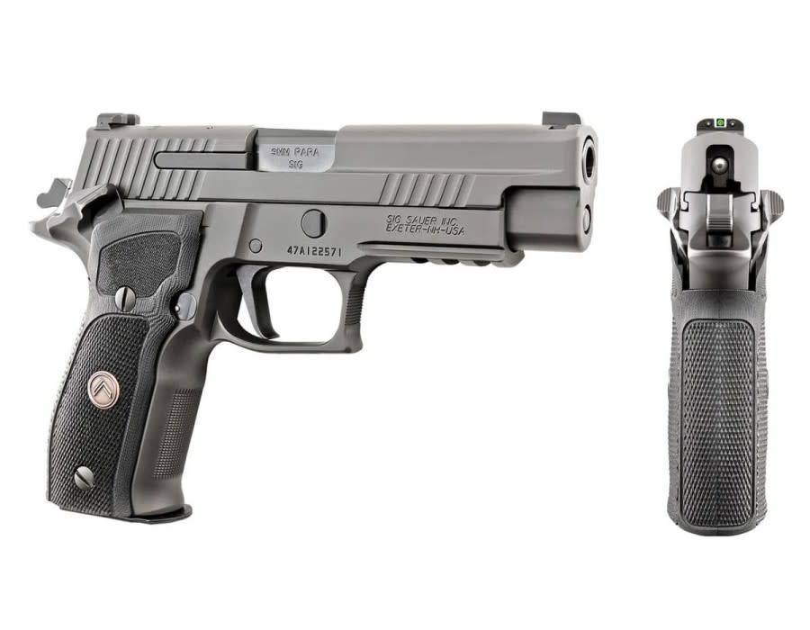 Sig sour hour pistol clipart black and white image royalty free Sig Sauer P226 Legion Series, 9mm, 4.4\