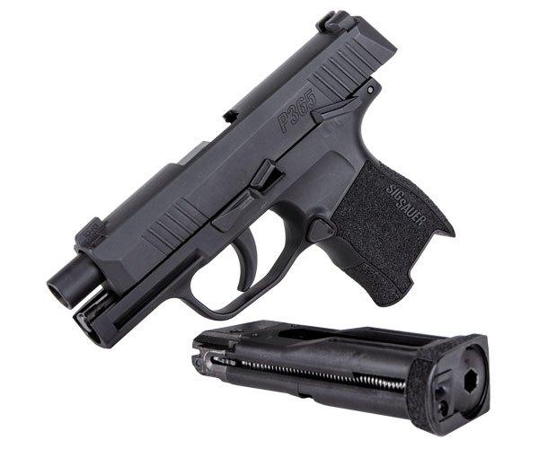 Sig sour hour pistol clipart black and white vector transparent download SIG SAUER P365 BB Pistol Now Shipping   FOG HORN vector transparent download