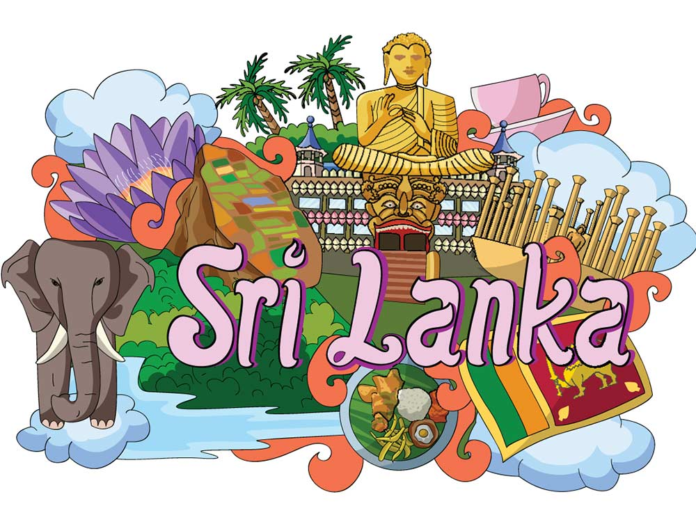 Sigiriya clipart svg freeuse stock Sri Lanka In Pictures - A Pictorial Evidence Of \'Paradise ... svg freeuse stock