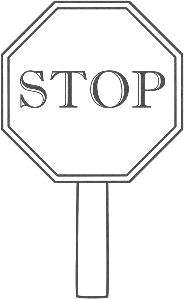 Sign clipart black and white picture royalty free stock Stop sign black and white cliparts - Cliparting.com picture royalty free stock