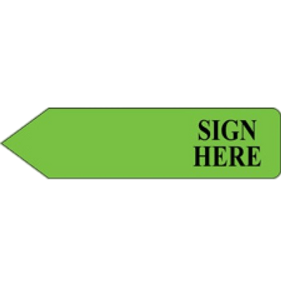 Sign here clipart graphic black and white stock Sign Here Green Arrow transparent PNG - StickPNG graphic black and white stock